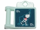 Part No: 98393bpb06  Name: Friends Accessories Medical Clipboard with Elephant X-Ray Pattern (Sticker) - Set 41424