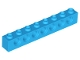 Part No: 3702  Name: Technic, Brick 1 x 8 with Holes