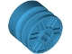 Part No: 55982  Name: Wheel 18mm D. x 14mm with Axle Hole, Fake Bolts and Shallow Spokes
