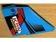 Part No: 64394pb026  Name: Technic, Panel Fairing #13 Large Short Smooth, Side A with 'KRN POWERTOOLS' Red, Vent and Red, Black and Dark Red Lines Pattern (Sticker) - Set 42077