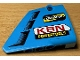Part No: 64680pb025  Name: Technic, Panel Fairing #14 Large Short Smooth, Side B with 'KRN POWERTOOLS' Red and Yellow and Vents Pattern (Sticker) - Set 42077