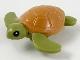 Part No: 67040pb01  Name: Sea Turtle, Black Eyes and Medium Nougat Shell Pattern