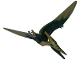 Part No: Ptera03  Name: Dinosaur, Pteranodon with Dark Green Back