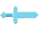 Part No: 18787  Name: Minifigure, Weapon Sword, Pixelated (Minecraft)