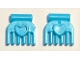 Part No: 92355g  Name: Friends Accessories Comb, Small with Heart