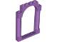 Part No: 40066  Name: Door, Frame 1 x 6 x 7 Rounded Pillars with Top Arch and Notches