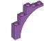Part No: 76768  Name: Brick, Arch 1 x 5 x 4 - Irregular Bow, Reinforced Underside