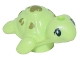 Part No: 49576pb01  Name: Turtle Baby, Friends with Black Eyes and Olive Green Spots Pattern