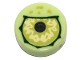 Part No: 98138pb109  Name: Tile, Round 1 x 1 with Lime Eye with Black Pupil Partially Closed Pattern
