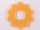 Part No: clikits034  Name: Clikits Icon Accent, Rubber Flower 10 Petals 2 3/4 x 2 3/4