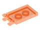 Part No: 30350b  Name: Tile, Modified 2 x 3 with 2 Clips (thick open O clips)