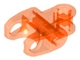 Part No: 60176  Name: Technic, Axle Connector 2 x 3 with Ball Socket, Closed Sides, Squared Ends