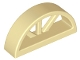 Part No: 20309  Name: Window 1 x 4 x 1 2/3 with Spoked Rounded Top