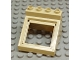Part No: 52064  Name: Duplo Furniture Cabinet Top 4 x 4 x 2 1/2 Sloped with Opening