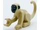 Part No: 77864pb02  Name: Monkey with Dark Bluish Gray Face and Ears Pattern