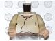Part No: 973px82bc01  Name: Torso SW Closed Shirt, Brown Belt, Light Flesh Neck Pattern / Tan Arms / Light Flesh Hands