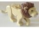 Part No: bb0787c04pb02  Name: Cat, Large (Lion) with Reddish Brown Mane, Nougat Eyes, Nougat Nose and White Muzzle Pattern