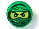 Part No: 98138pb047  Name: Tile, Round 1 x 1 with Ninjago Trapped Lloyd Pattern