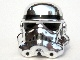 Part No: 30408px6  Name: Minifigure, Headgear Helmet SW Stormtrooper, 2 Chin Holes Pattern