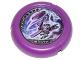Part No: 32171pb050  Name: Throwbot Disk, Electro / Energy, 3 pips, Electro throwing disk Pattern