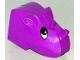Part No: 44218  Name: Duplo Figure Head Animal 2 x 2 Base Rhino