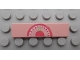 Part No: 2431pb251  Name: Tile 1 x 4 with Weight Scale Pattern (Sticker) - Set 3242