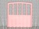 Part No: 6684  Name: Scala Baby Crib Footboard 1 x 7 x 6