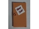 Part No: 60616pb019  Name: Door 1 x 4 x 6 with Stud Handle with 'Keep Out!' Sign Pattern (Sticker) - Set 71006