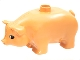Part No: pig02pb01  Name: Duplo Pig Adult Third Version with Lowered Head