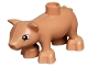 Part No: pig03pb01  Name: Duplo Pig Baby (Piglet) Second Version with Eyes on Side of Head