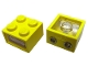 Part No: 08010cc01  Name: Electric, Light Brick 4.5V 2 x 2 with 2 Plug Holes, Trans-Clear Smooth Lens