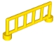 Part No: 12602  Name: Duplo Fence 1 x 6 x 1 1/2 Railing with 6 Posts