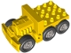 Part No: 1326c01  Name: Duplo Truck Semi-Tractor Chassis