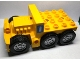 Part No: 1326c01pb01  Name: Duplo Truck Semi-Tractor Chassis with Fire Extinguisher and Headlights Pattern (Stickers) - Set 7844