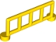Part No: 2214  Name: Duplo Fence 1 x 6 x 1 1/2 Railing with 5 Posts