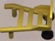 Part No: 2495c01  Name: Minifigure, Utensil Hand Truck (2495 / 2496)
