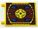 Part No: 2525px3  Name: Flag 6 x 4 with Oriental Rug Pattern