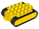 Part No: 25600c01  Name: Duplo Caterpillar Base