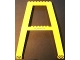 Part No: 2635pb02  Name: Support Crane Stand Double with Arrows and Black and Yellow Danger Stripes Pattern (Stickers) – Set 4555