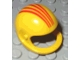 Part No: 2715px3  Name: Technic, Figure Accessory Helmet with Four Red Lines Pattern