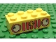 Part No: 3001pb027  Name: Brick 2 x 4 with Car Grille Fabuland Vertical Pattern (Sticker) - Sets 128-1 / 338-2