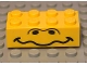 Part No: 3001px2  Name: Brick 2 x 4 with Wavy Mouth and Nostrils Pattern