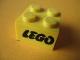 Part No: 3003px5  Name: Brick 2 x 2 with Lego Logo Open O Style Black Pattern (Samsonite)