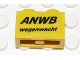 Part No: 3004pb081  Name: Brick 1 x 2 with 'ANWB wegenwacht' Pattern (Sticker) - Set 2140