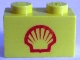 Part No: 3004px26  Name: Brick 1 x 2 with Shell Logo I Small Pattern