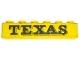 Part No: 3009pb013  Name: Brick 1 x 6 with Black 'TEXAS' Pattern (Sticker) - Set 372-1