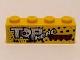 Part No: 3010pb214  Name: Brick 1 x 4 with 'TOP HEAD TRANSPORT' Pattern (Sticker) - Set 9093