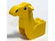 Part No: 30143px1  Name: Camel Head 3 x 7 x 5 1/3 with Eyes and Nose Pattern