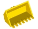 Part No: 30394  Name: Vehicle, Digger Bucket 7 Teeth 3 x 6 with Locking 2 Finger Hinge
