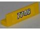 Part No: 30413pb028  Name: Panel 1 x 4 x 1 with White '7746' Pattern (Sticker) - Set 7746
